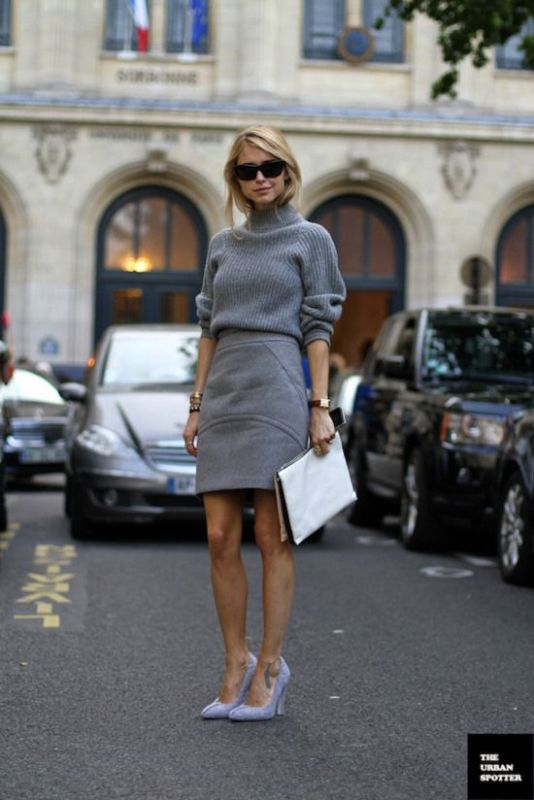 Picture Of ways to make turtleneck look stylish  14