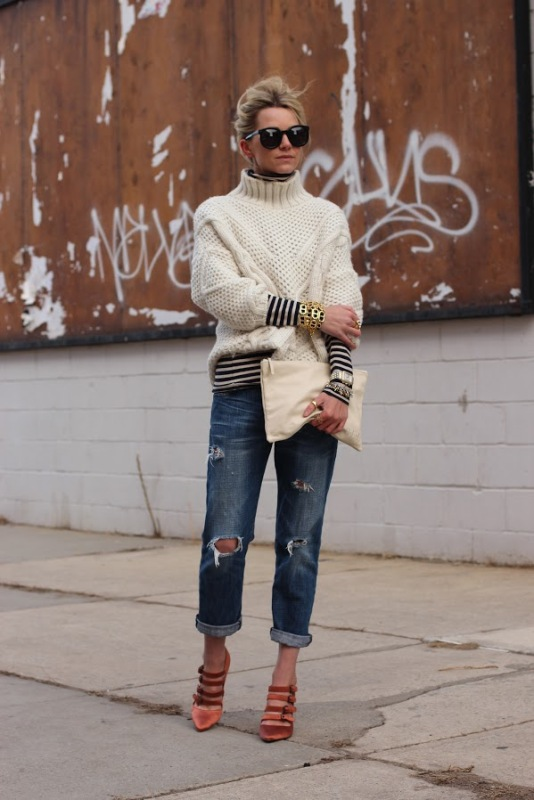 Picture Of ways to make turtleneck look stylish  15
