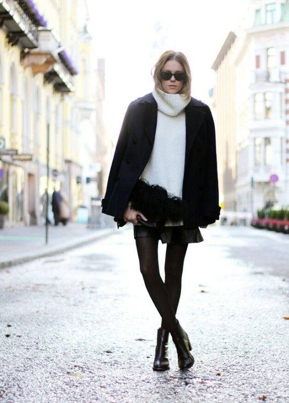 Picture Of ways to make turtleneck look stylish  3