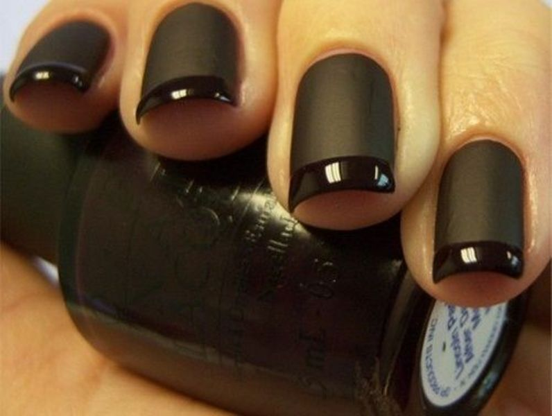 Picture Of ways to spice up your casual french manicure  13