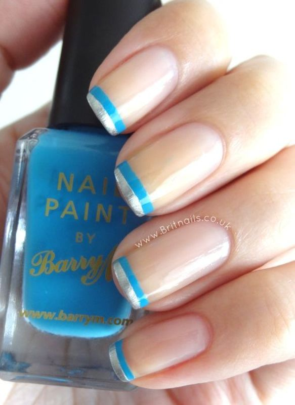 Picture Of ways to spice up your casual french manicure  3