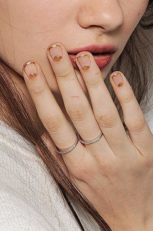 Picture Of ways to spice up your casual french manicure  5