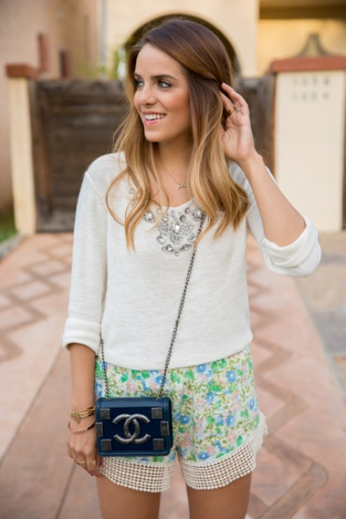 Chic Ways To Rock Printed Shorts This Summer