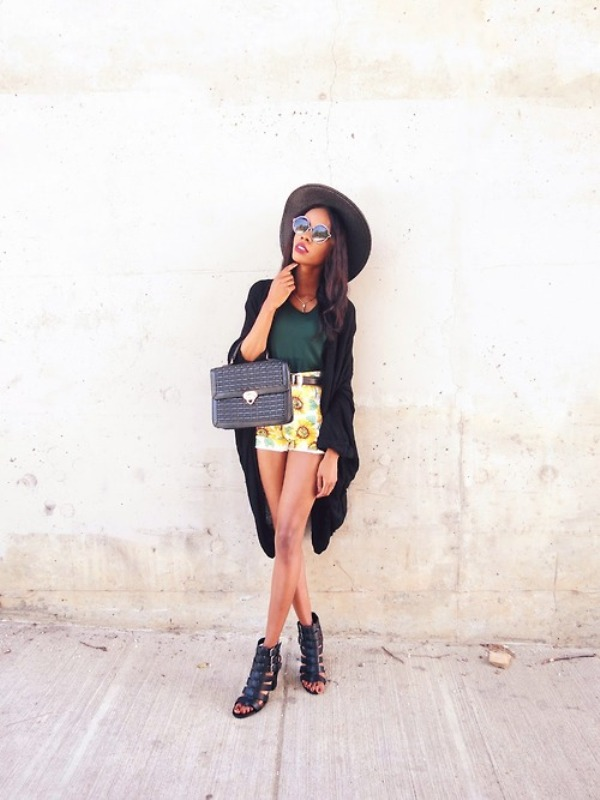 Picture Of chic ways to rock printed shorts this summer  5