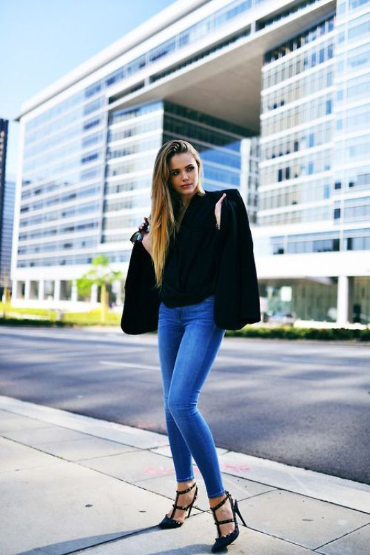 Picture Of fresh ways to style your basic skinny jeans  1