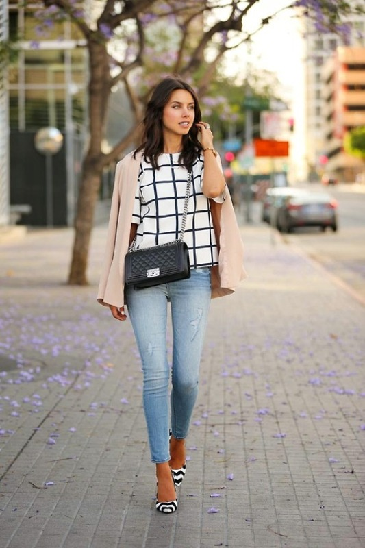 Picture Of fresh ways to style your basic skinny jeans  12