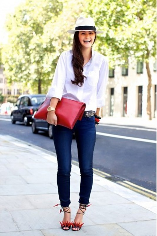 Picture Of fresh ways to style your basic skinny jeans  14