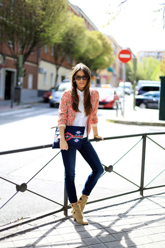 Picture Of fresh ways to style your basic skinny jeans  15