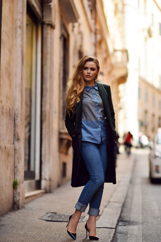 Picture Of fresh ways to style your basic skinny jeans  17