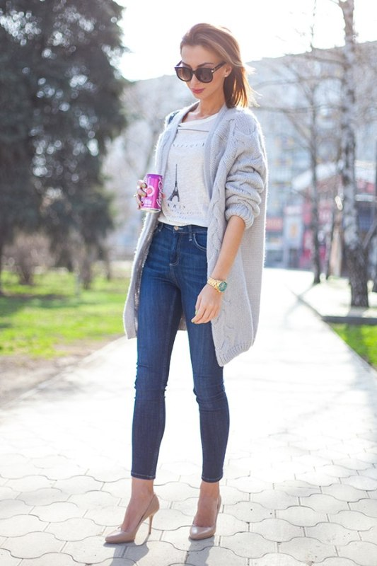Picture Of fresh ways to style your basic skinny jeans  2