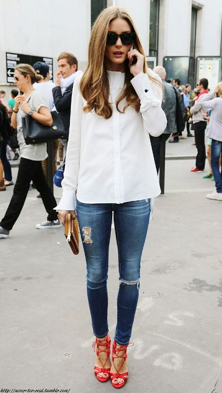 Picture Of fresh ways to style your basic skinny jeans  3