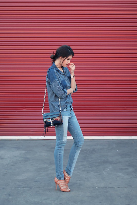 Picture Of fresh ways to style your basic skinny jeans  6