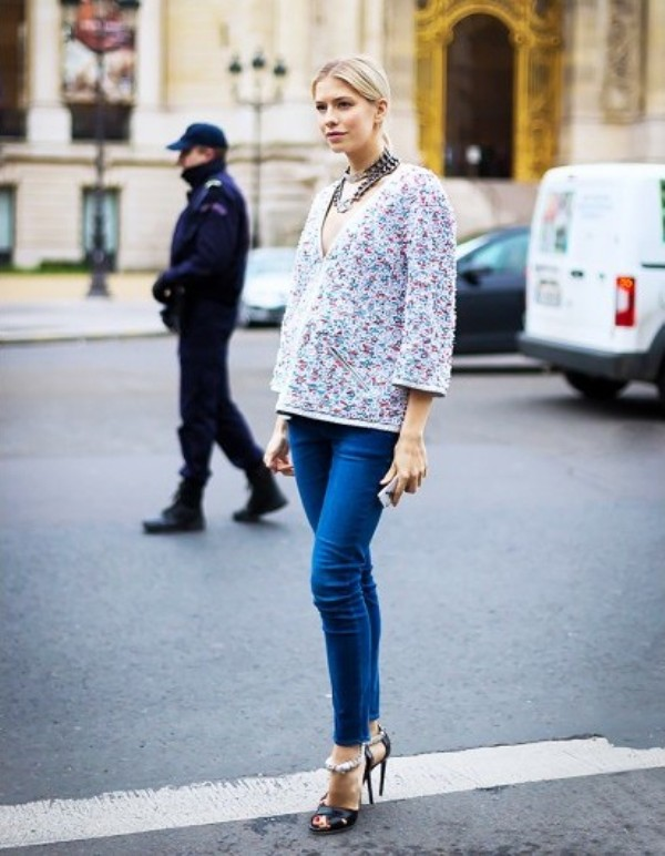 Picture Of fresh ways to style your basic skinny jeans  7