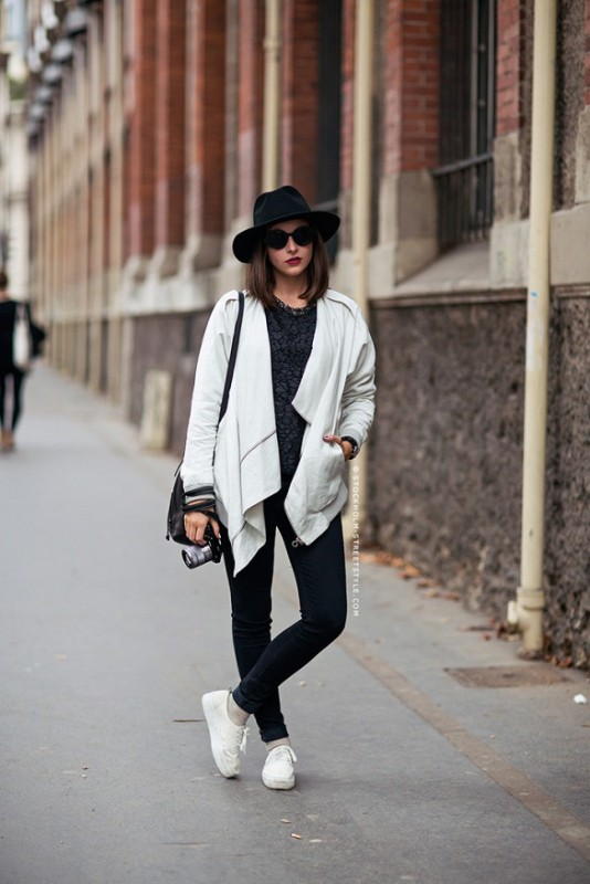 Picture Of perfect looks with platform sneakers to get inspired  16