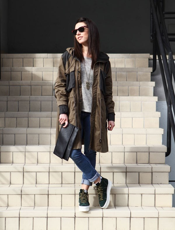Picture Of perfect looks with platform sneakers to get inspired  4