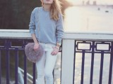 18-pretty-ways-to-transition-your-white-jeans-for-fall-18
