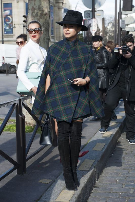 Picture Of trendy plaid coat looks to recreate now  16