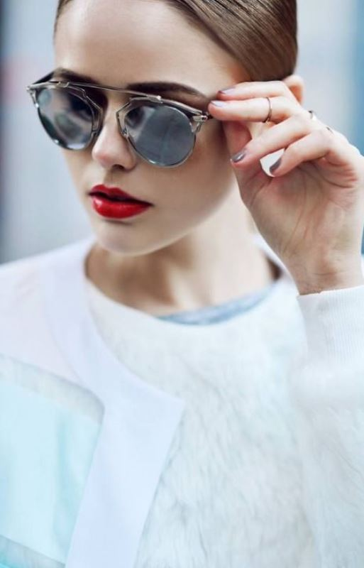 Picture Of cool sunglasses for oval face type  19