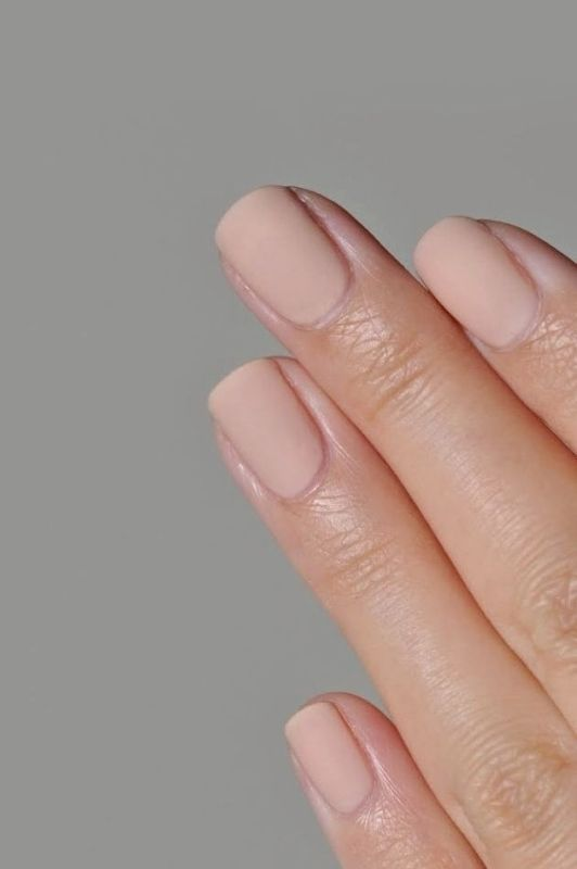Picture Of matte and hot manicure ideas  6