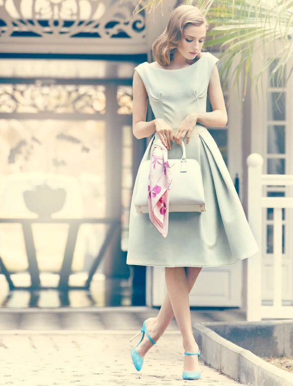 Picture Of romantic and refined dresses for a valentines day  11