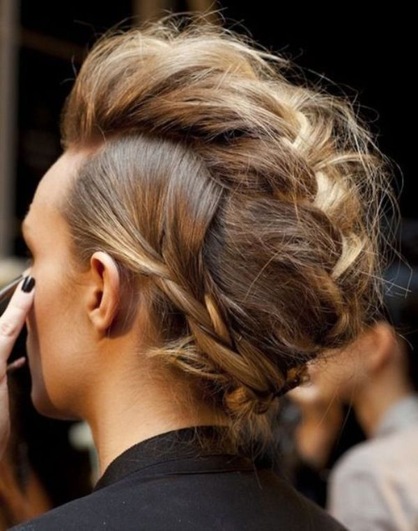 Picture Of spooky yet chic and stylish halloween hairstyles ideas  17