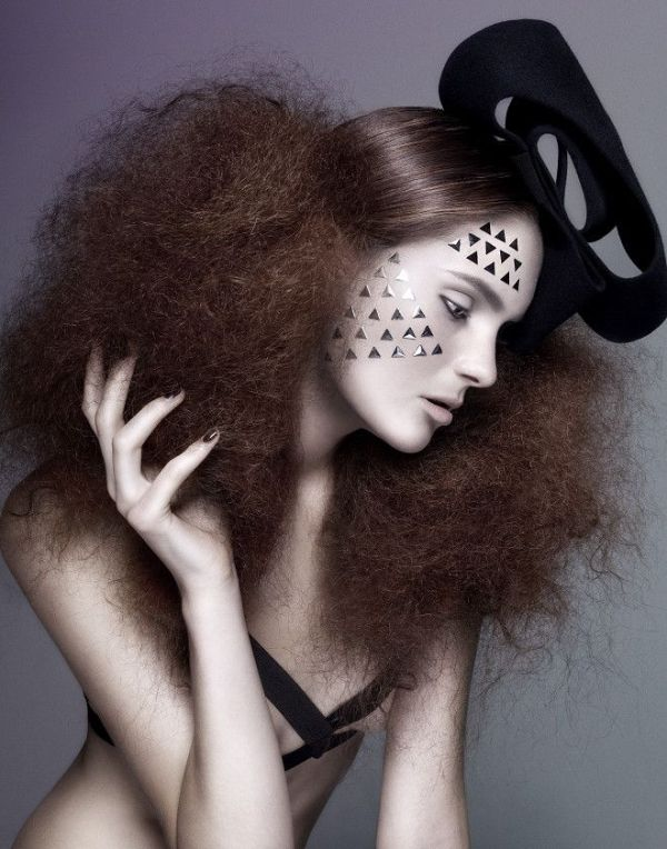 Picture Of spooky yet chic and stylish halloween hairstyles ideas  8