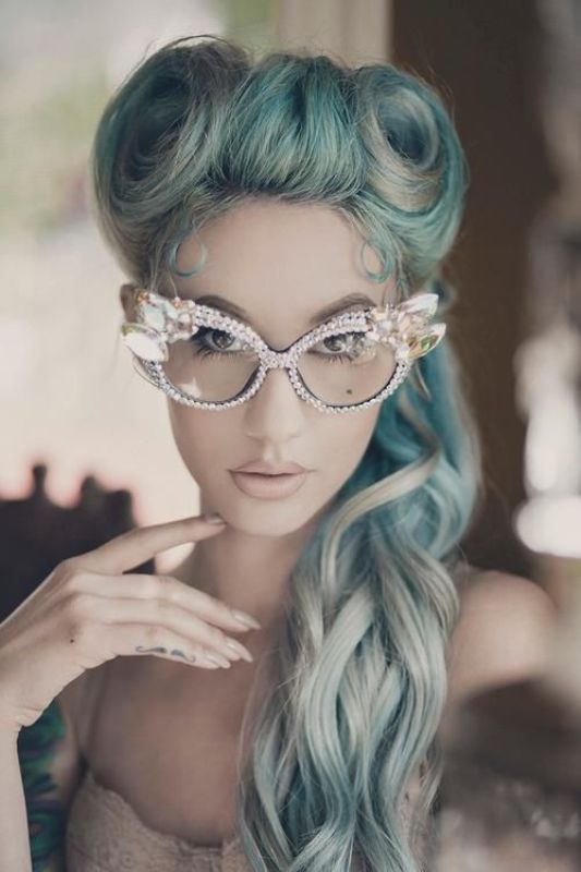 Picture Of spooky yet chic and stylish halloween hairstyles ideas  9