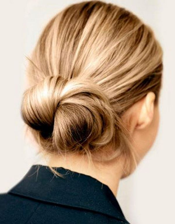 Picture Of stylish pulled back hairstyles for long locks  16