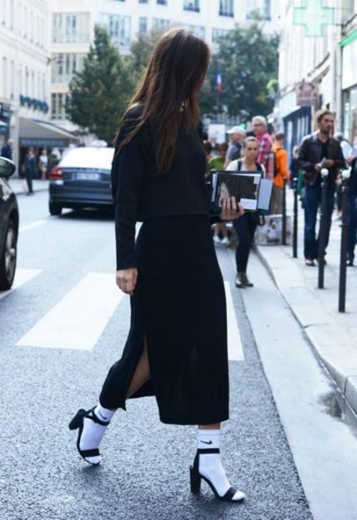 Stylish Ways To Wear Socks This Fall