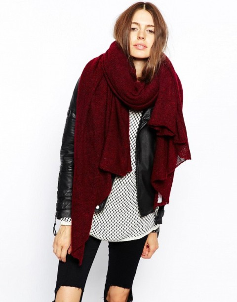 20 Amazing Oversized Scarves For Fall And Winter