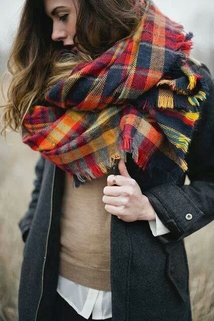 Amazing Oversized Scarves For Fall And Winter