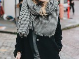 20 Amazing Oversized Scarves For Fall And Winter14