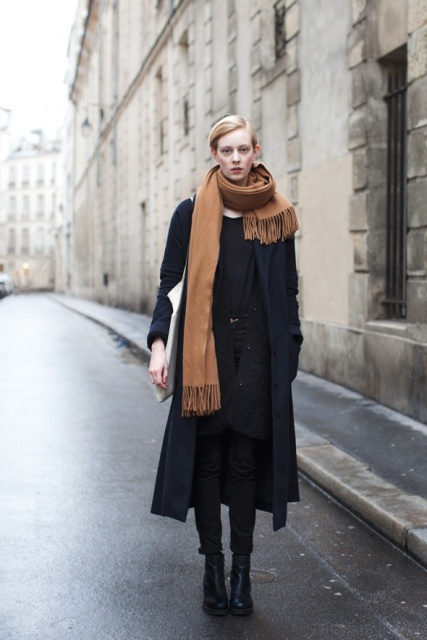 Picture Of Amazing Oversized Scarves For Fall And Winter 17