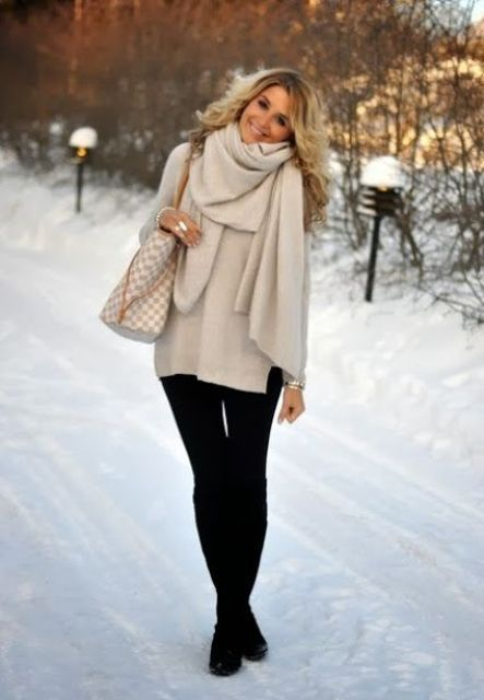 Picture Of Amazing Oversized Scarves For Fall And Winter 19
