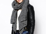20 Amazing Oversized Scarves For Fall And Winter2