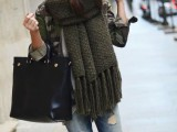 20 Amazing Oversized Scarves For Fall And Winter9