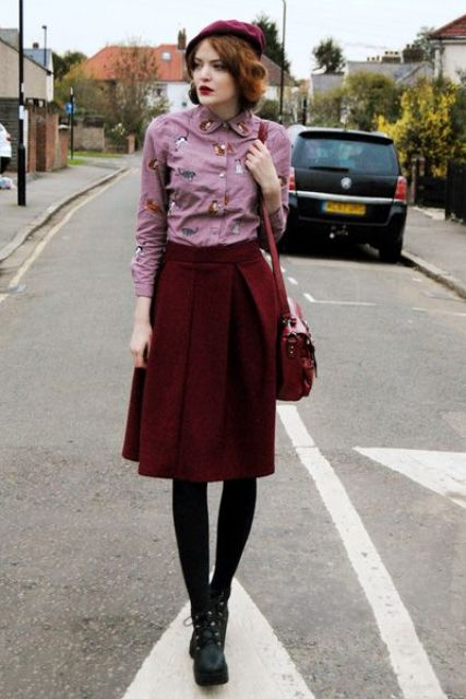 Chic Fall Outfits With Berets