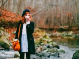 20 Chic Fall Outfits With Berets17