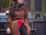 20 Chic Fall Outfits With Berets18