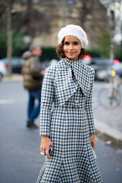 Chic Ways To Rock A Beret This Fall