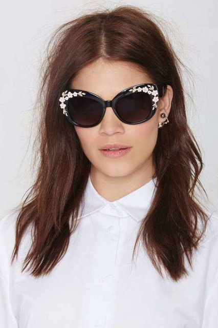 Cool Embellished Sunglasses To Try This Season17 (2)