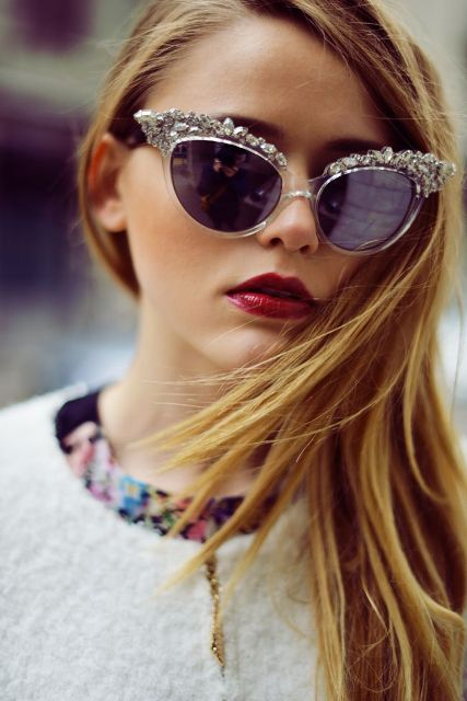 20 Cool Embellished Sunglasses To Rock This Season