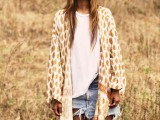 20 Cool Outfits With A Kimono Jacket For This Summer12