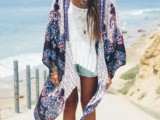 20 Cool Outfits With A Kimono Jacket For This Summer13