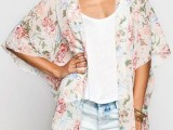 20 Cool Outfits With A Kimono Jacket For This Summer14