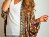 20 Cool Outfits With A Kimono Jacket For This Summer15