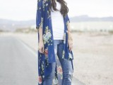 20 Cool Outfits With A Kimono Jacket For This Summer4