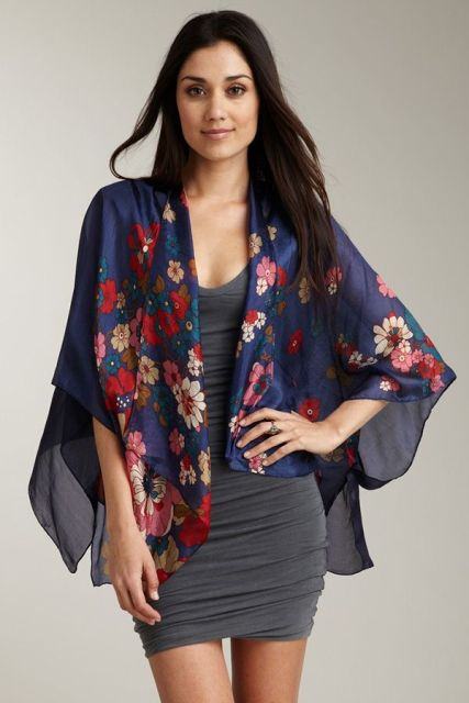 Picture Of Cool Outfits With A Kimono Jacket For This Summer 5