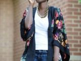 20 Cool Outfits With A Kimono Jacket For This Summer6