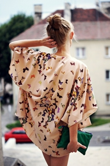 Picture Of Cool Outfits With A Kimono Jacket For This Summer 8